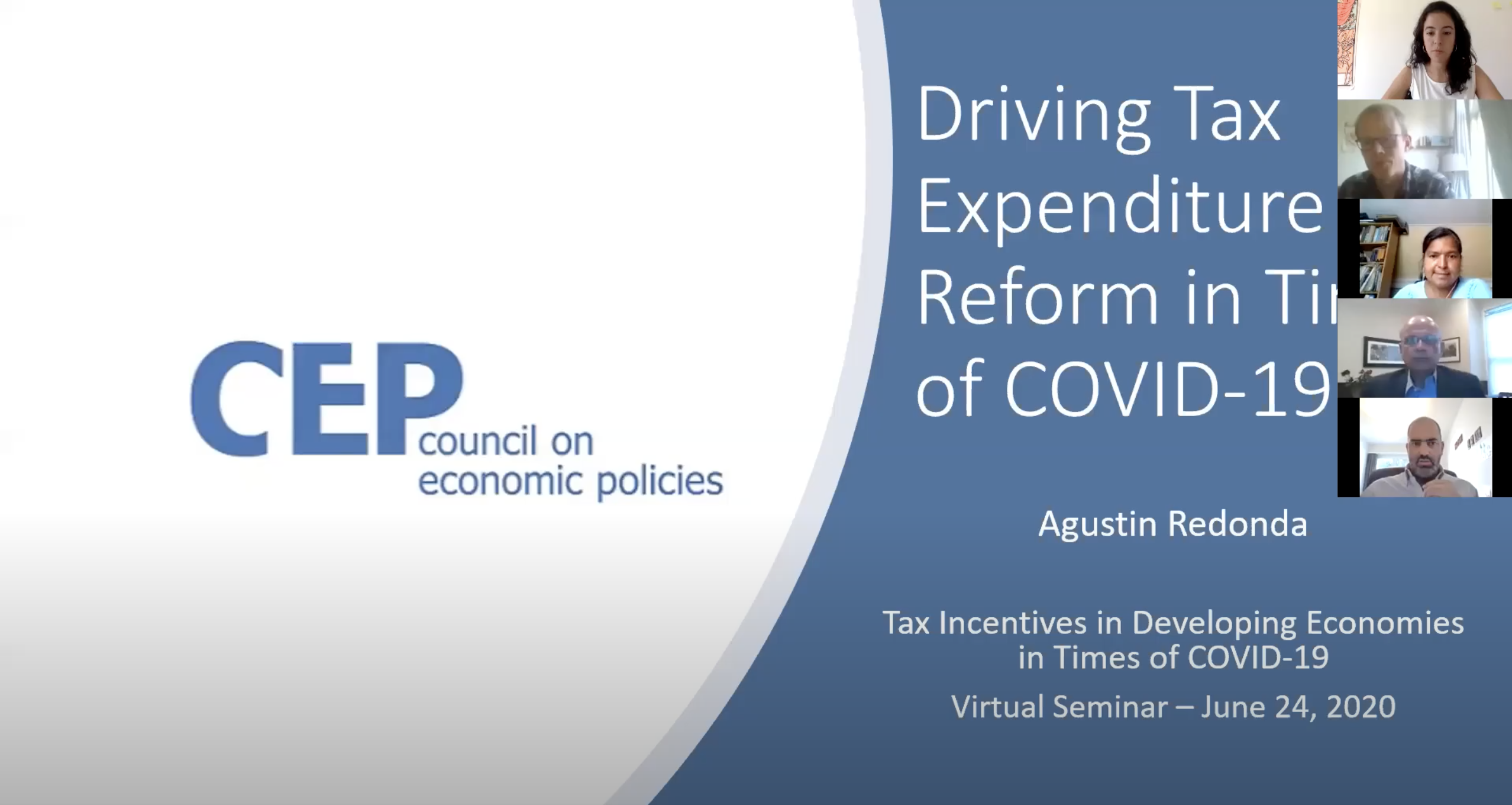Tax Incentives in Developing Countries in Times of COVID-19